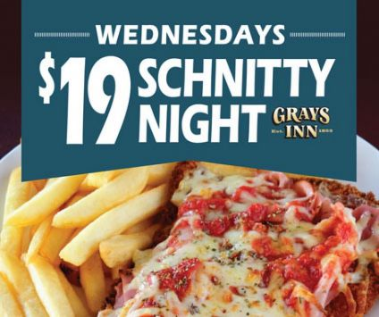 3. Wed Schnitty Night